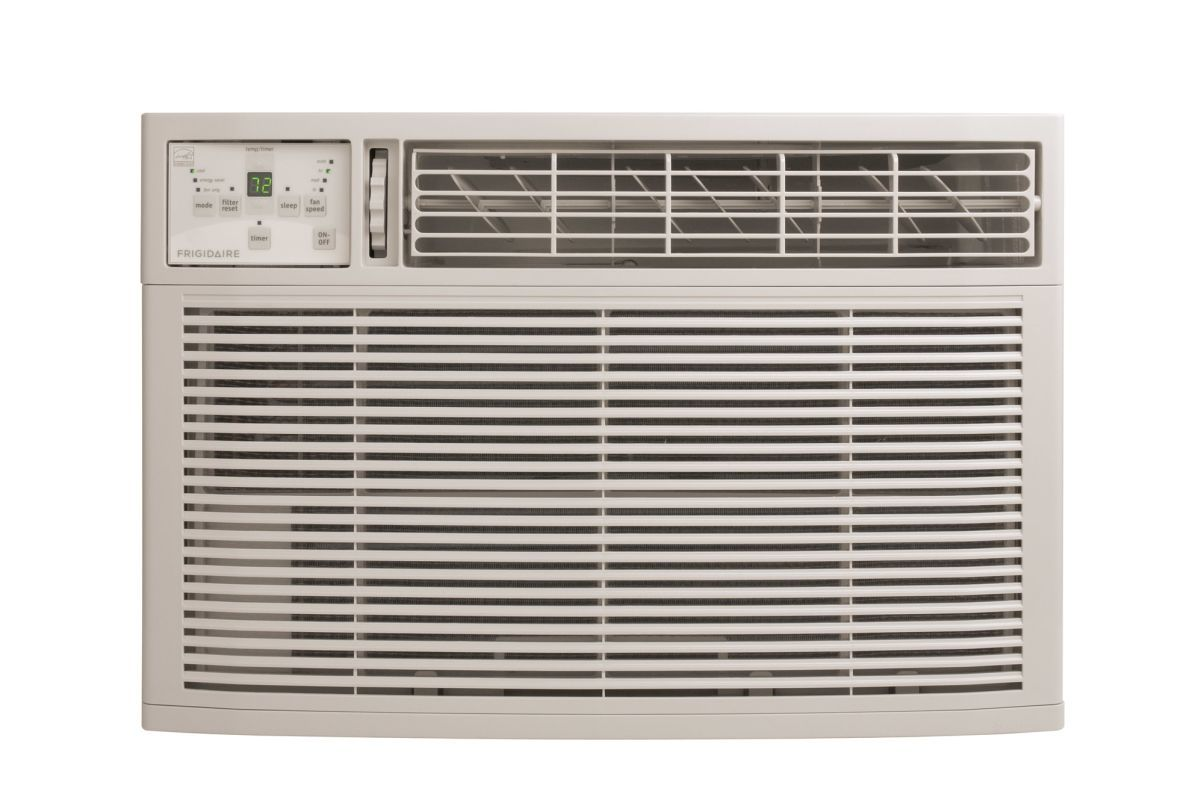 Frigidaire Fra064zu1 6000 Btu Compact Slide Out Chassis Air Conditioner White Air Conditioners Window Cool Only Window Air Conditioner Amana Air Conditioner Heating Cooling