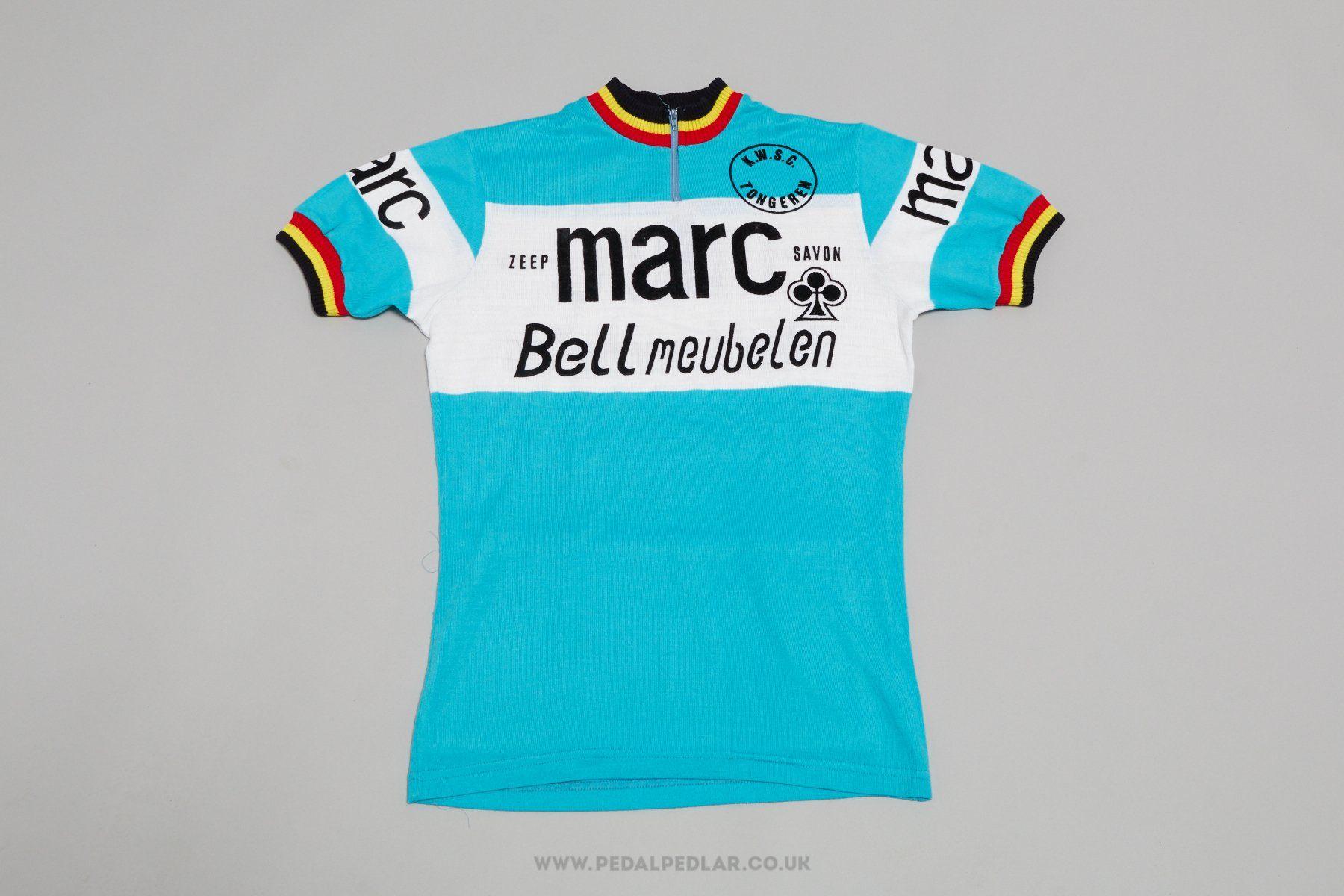 7d0602722 Colnago Zeep Marc Savon - Bell Meubelen - Vintage Cycling Jersey - Pedal  Pedlar