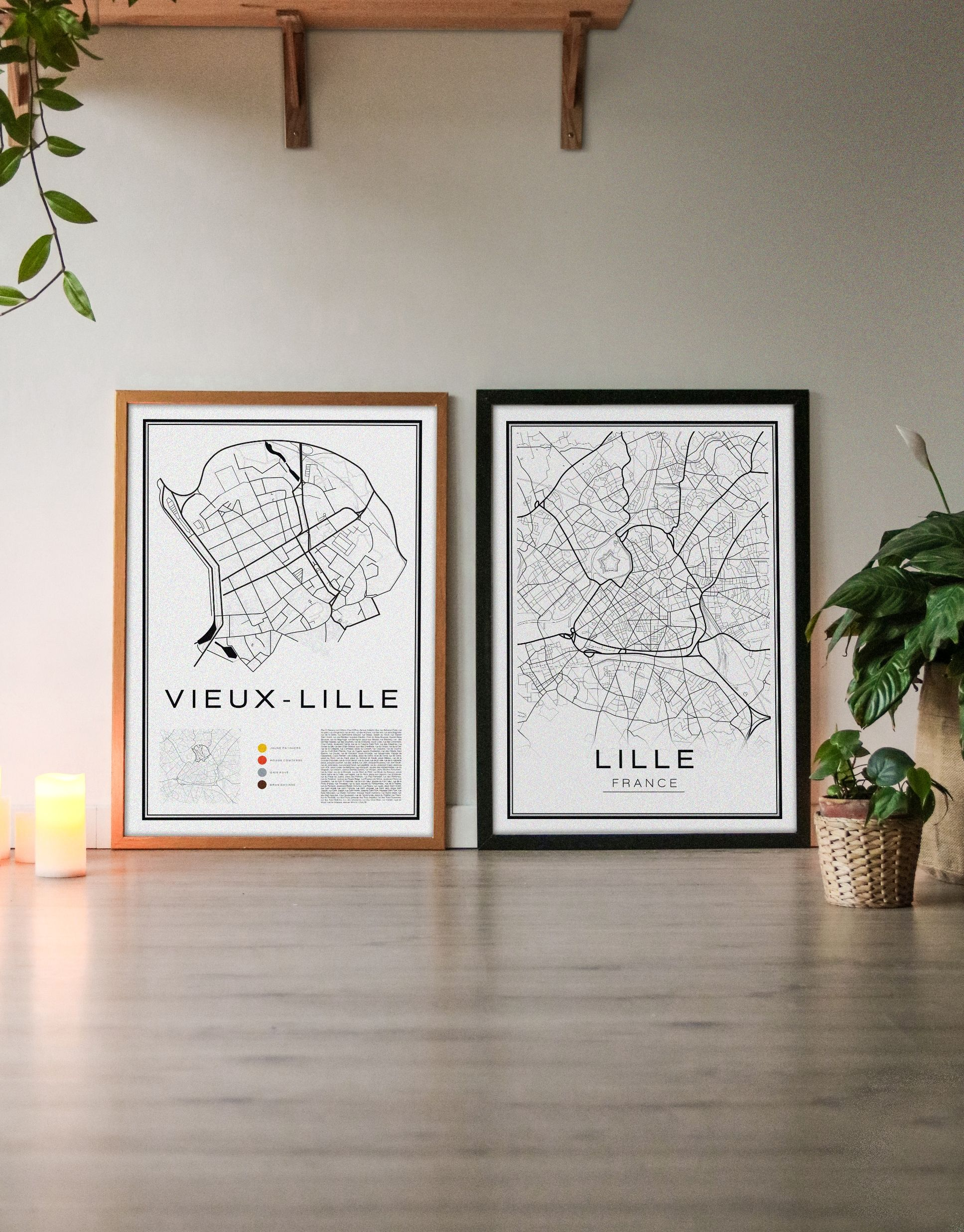 Lot De 2 Affiches Grand Format Lille Vieux Lille Ou Vulgarites In 2020 Gallery Wall Lille Prints