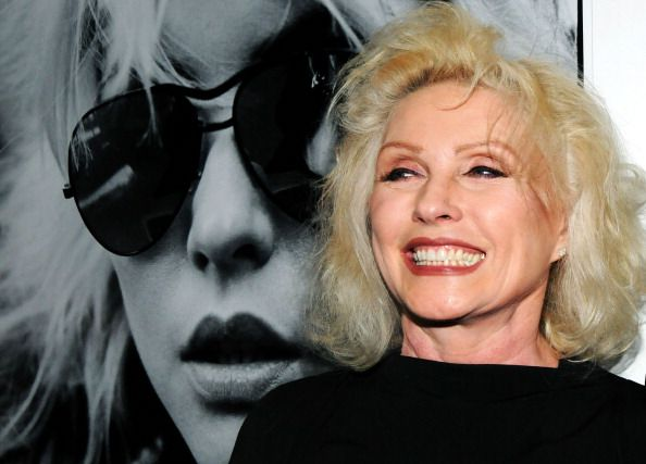 Debbie Harry attends the 'Blondie 4(0) Ever' Exhibition Opening at Morrison Hotel Gallery on May 9, 2014 in New York City.