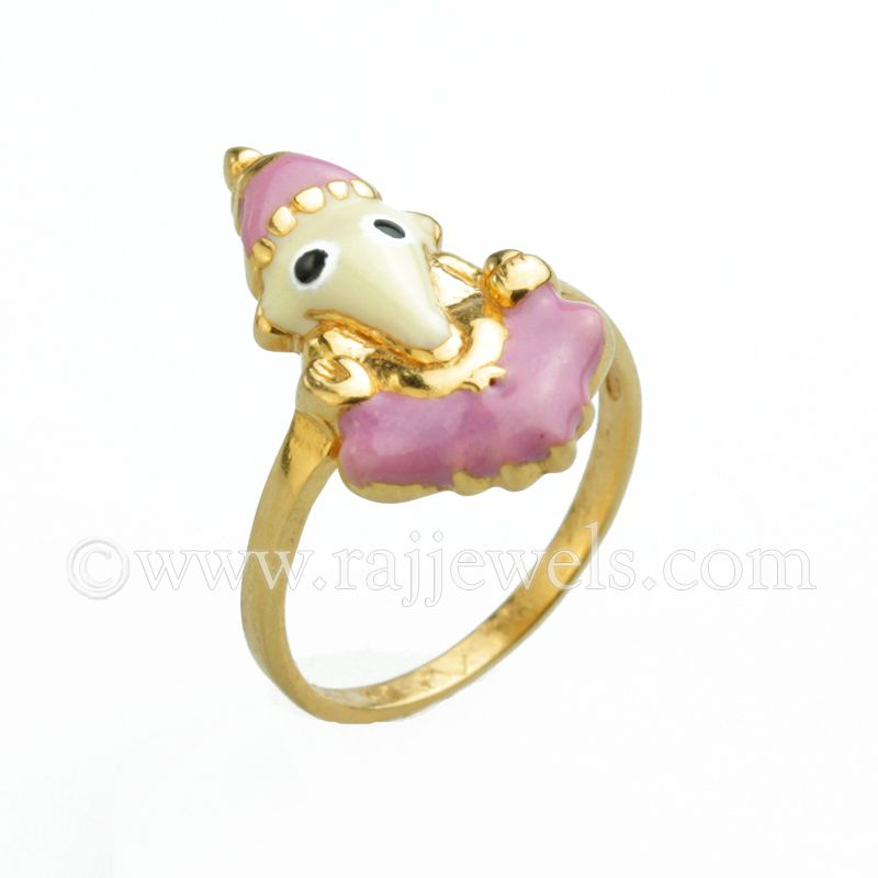 Baby Ganesha Gold Ring | Ganesha, Gold rings and Yellow gold rings