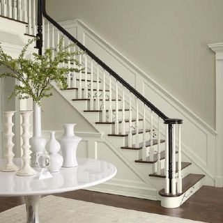 The Most Popular/Pinned Paint Colors on Pinterest {Paint It Monday}… Tapestry Beige Benjamin Moore