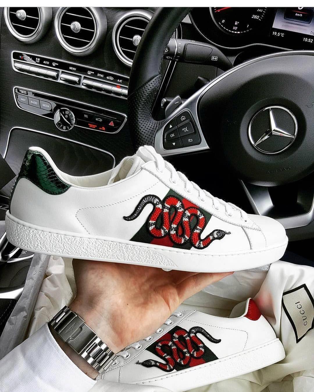 578082a62a Pinterest   RuSs!8 Black Gucci Shoes