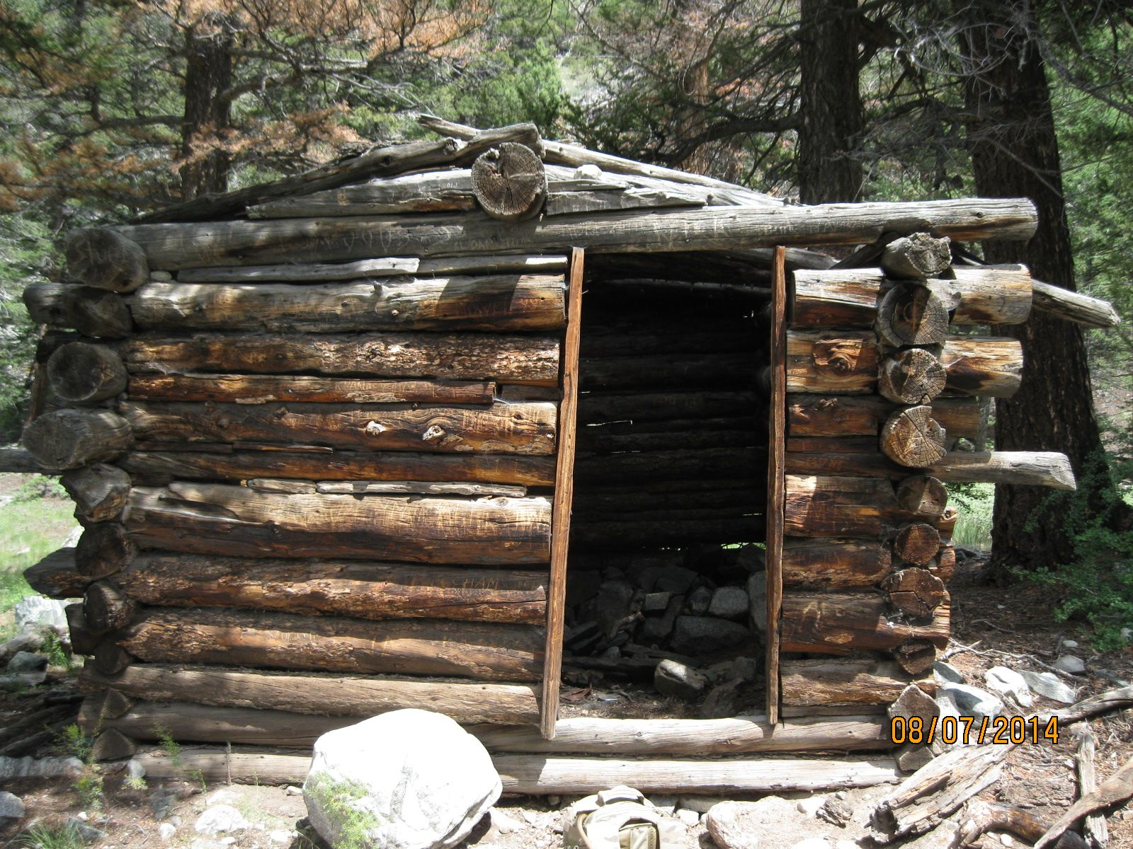 Log Cabin on the Zapata Lake Trail Colorado (With images