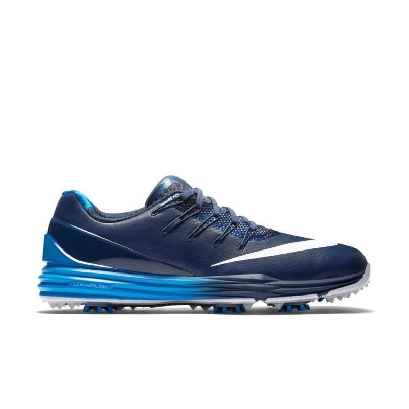 NEW $170 NIKE LUNAR CONTROL 4 GOLF SHOES NAVY BLUE 819037-400 SZ 11 RORY