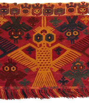 Murales Y Mantos Incas