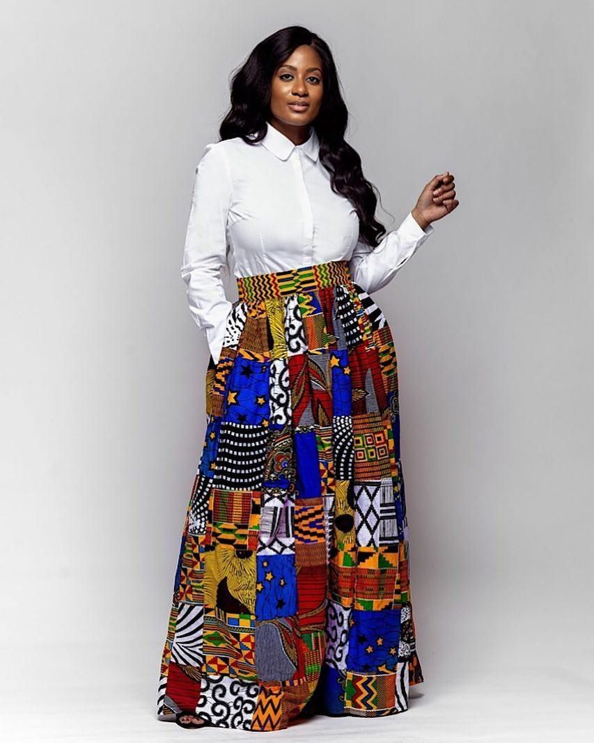 30 Best Kitenge Designs for Long Dresses 2019 Kitenge Styles #kitengedesigns 20 Best Kitenge Designs for Long Dresses 2019 Kitenge Styles #kitengedesigns