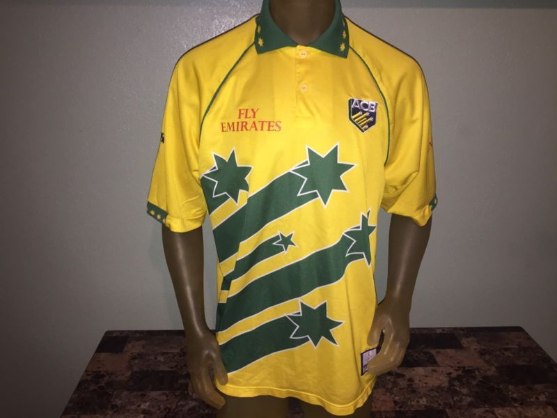 8159bed60fd Australia 1999 Cricket World Cup Shirt Asics | Collectible | World ...