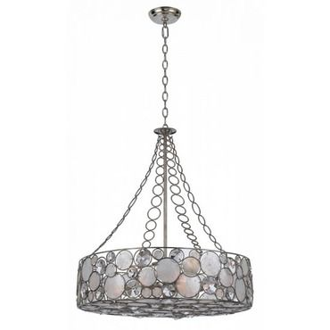 Palla Chandelier by Crystorama | 528-SA #altenkronleuchter