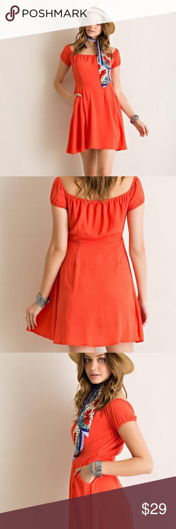 New Entro Off Shoulder Dress Crepe Fabric Lined Crepe Dress Dresses Off Shoulder Dress