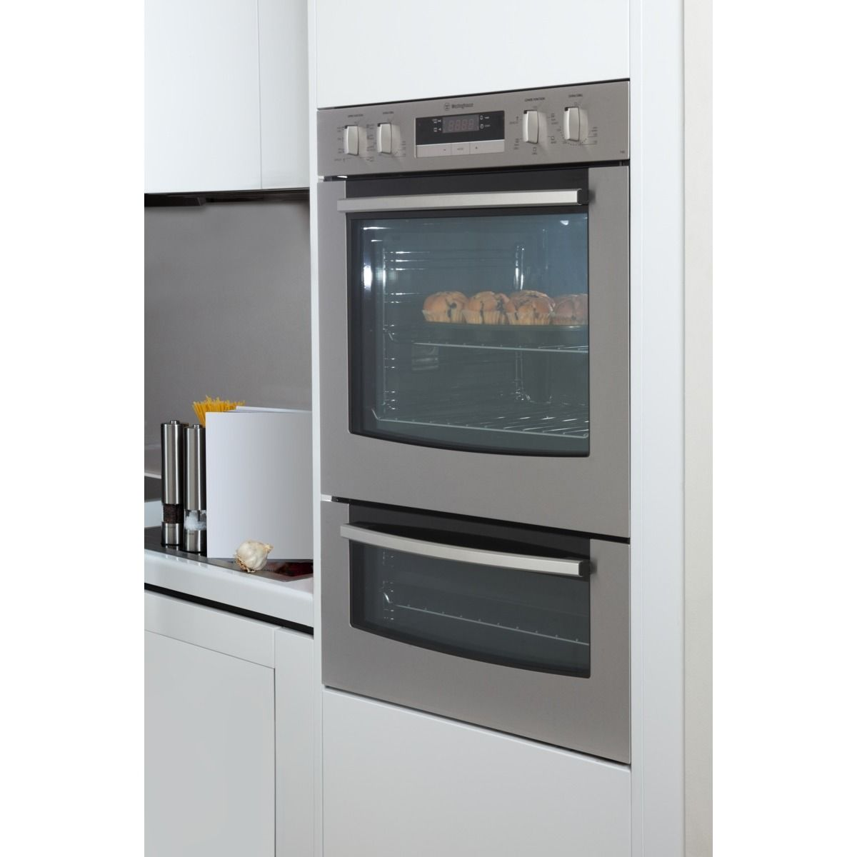 Check Out The Westinghouse 60cm Double Oven At The Good Guys