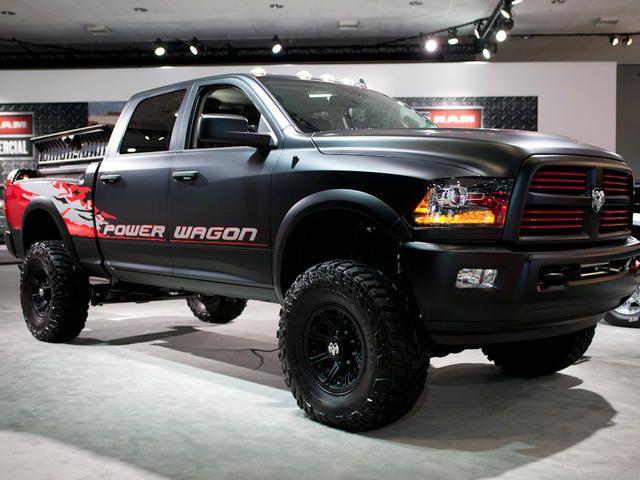 2012 La Auto Show Mega Gallery Pictures Dodge Trucks Ram Power Wagon Trucks