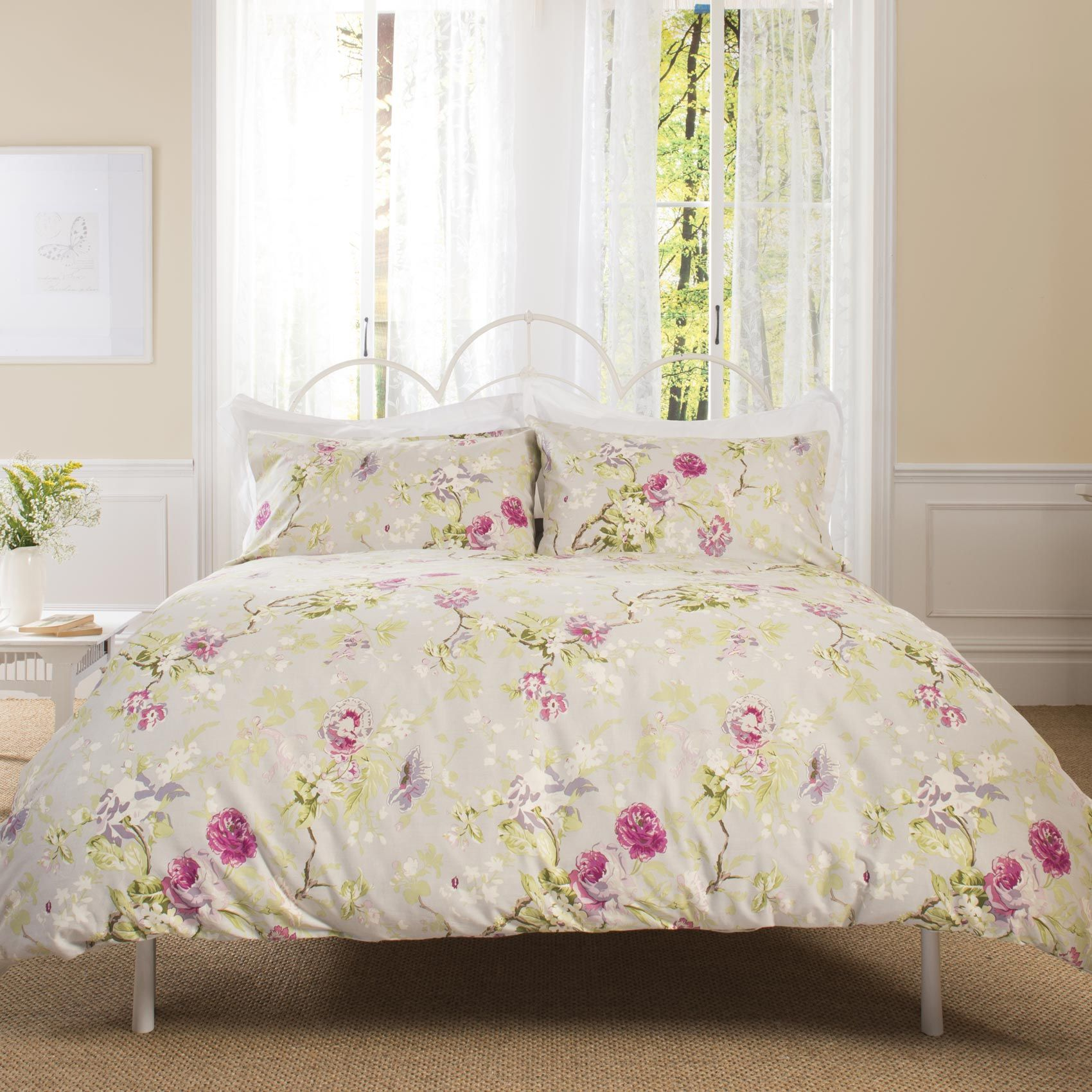 Patricia Rose Harrogate Duvet Cover Set Vintage Cottage Style