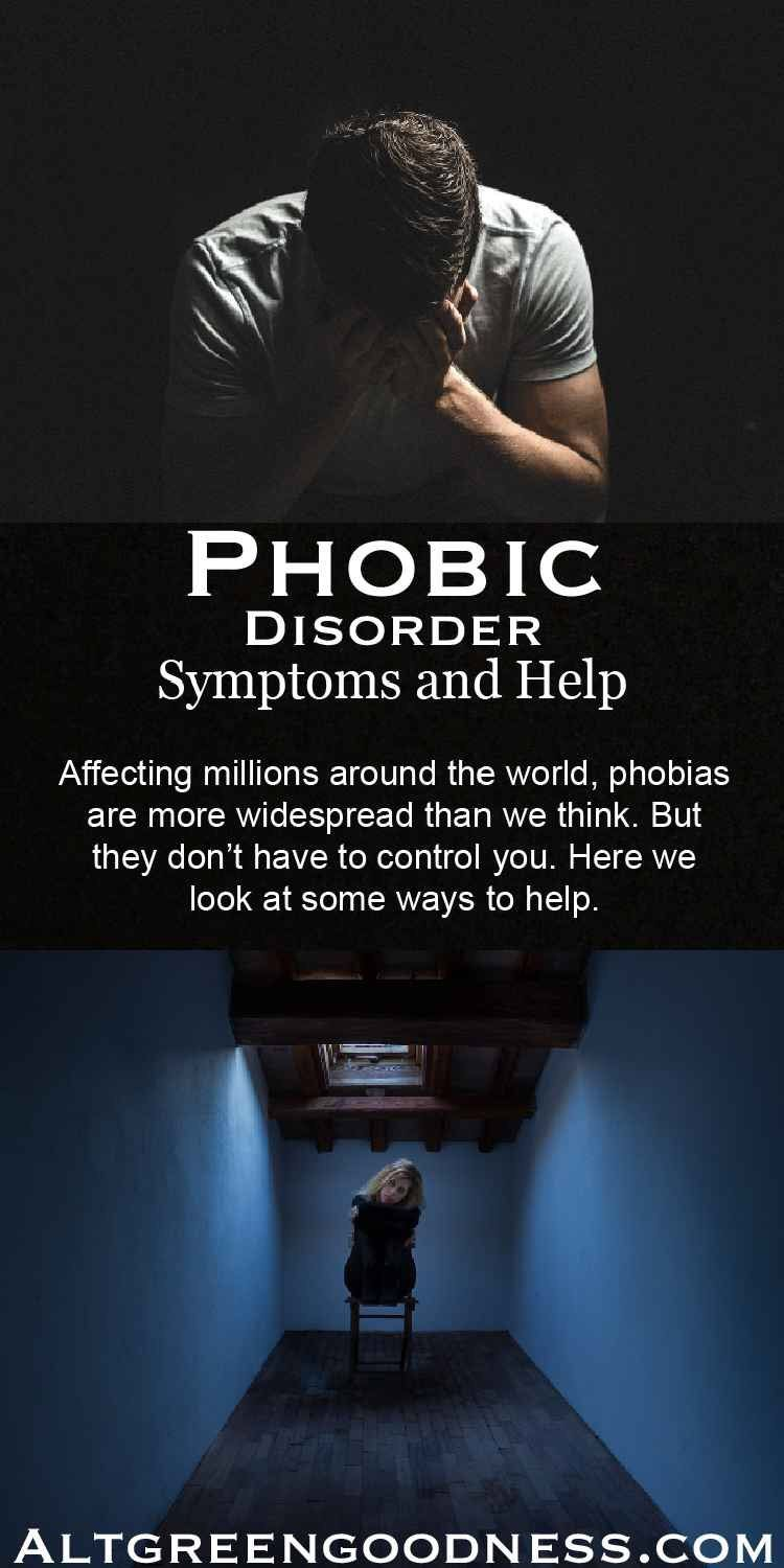 Phobic Disorder. Symptoms and how to get help. Affecting millions worldwide, phobias can be overcome. Here we take a look at what you can do