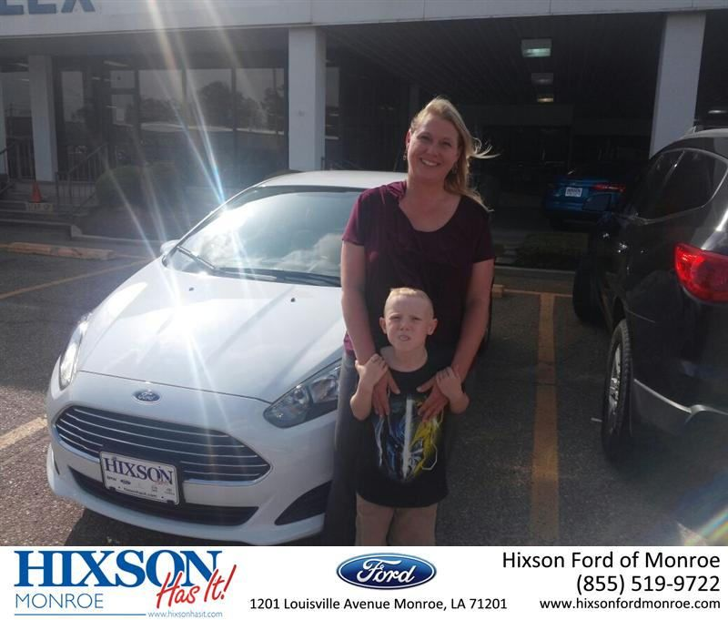 Congratulations To Angela Meredith On Your Ford Fiesta From