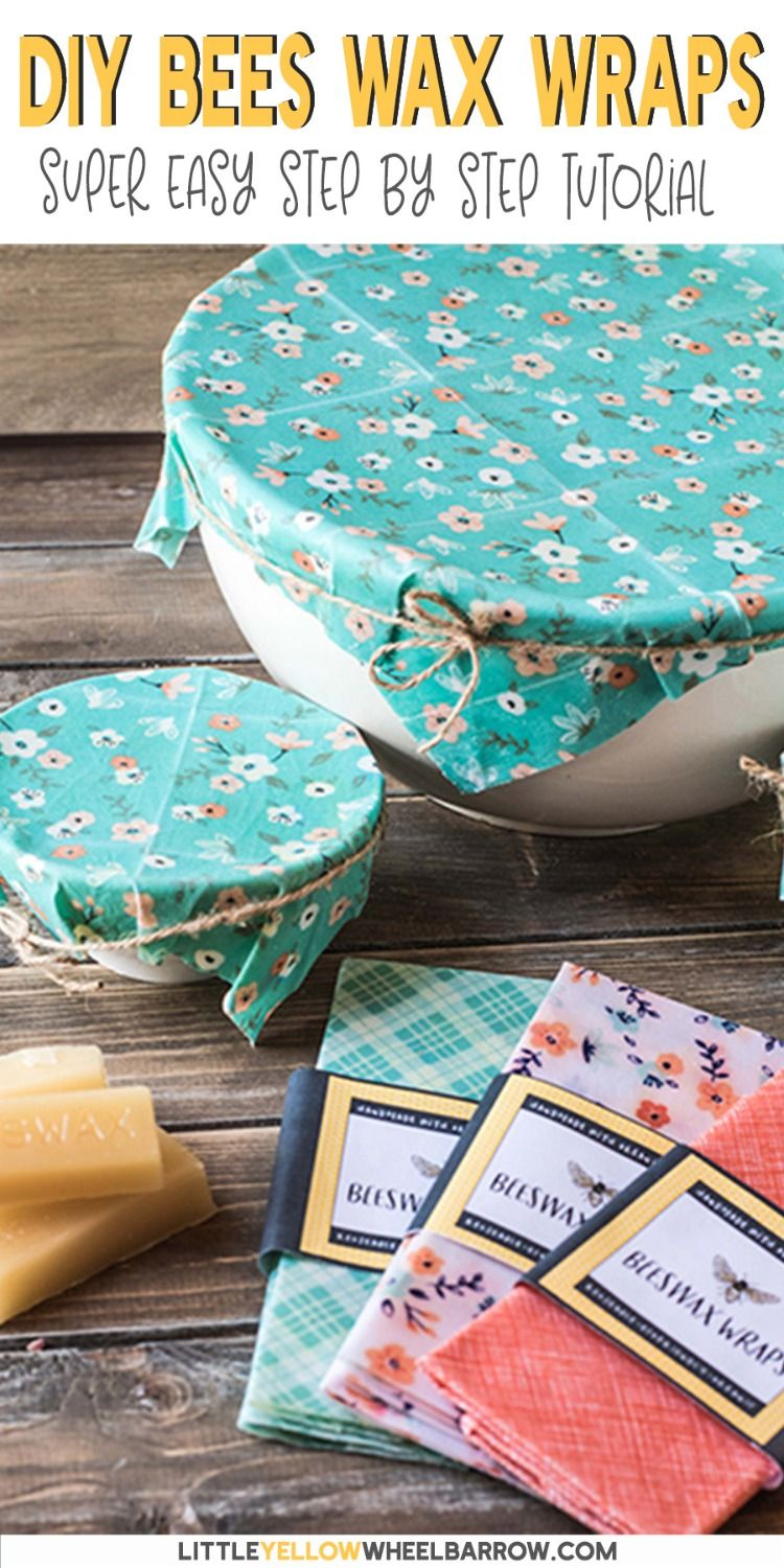 All You Need Know to Make DIY Beeswax Wrap is part of Diy beeswax wrap - These beeswax wraps take no time at all to create and make a great ecofriendly alternative to plastic wrap  They also make a nice handmade gift to give away!