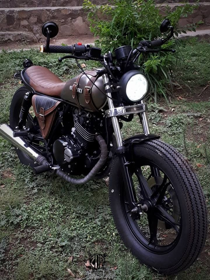 Suzuki GN250 By Lab Motorcycle   カフェレーサー, バイク, スバル