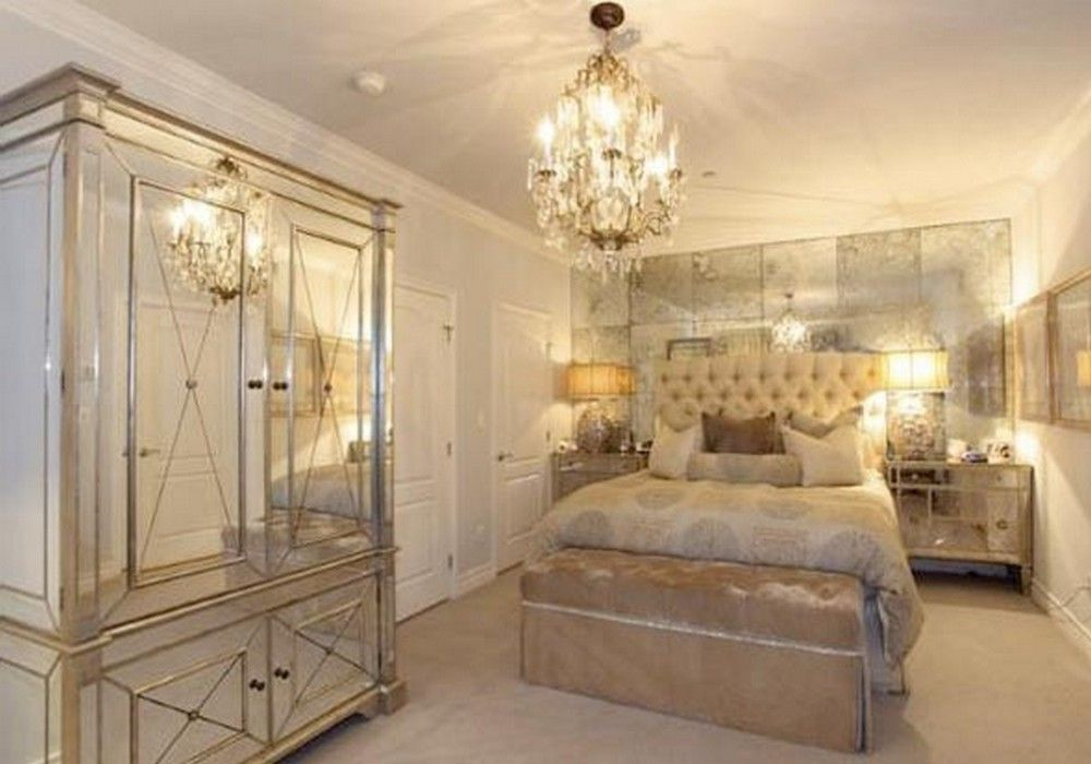 Mirrored Bedroom Furniture, Mirrored Glass Bedroom Furniture