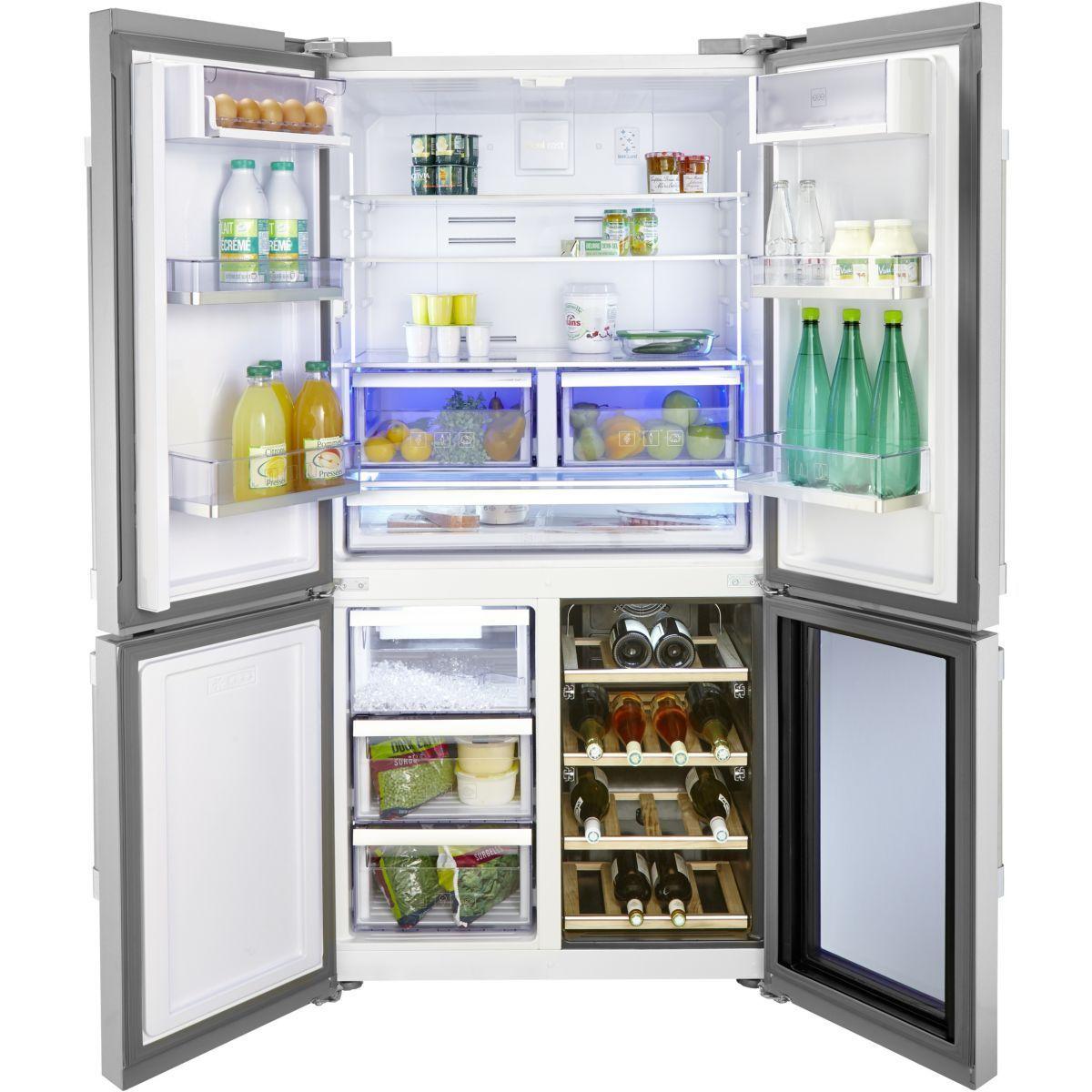 Refrigerateur Multi Portes Gn1416220cx Taille Taille Unique Cave A Vin Refrigerateur Refrigerateur Americain