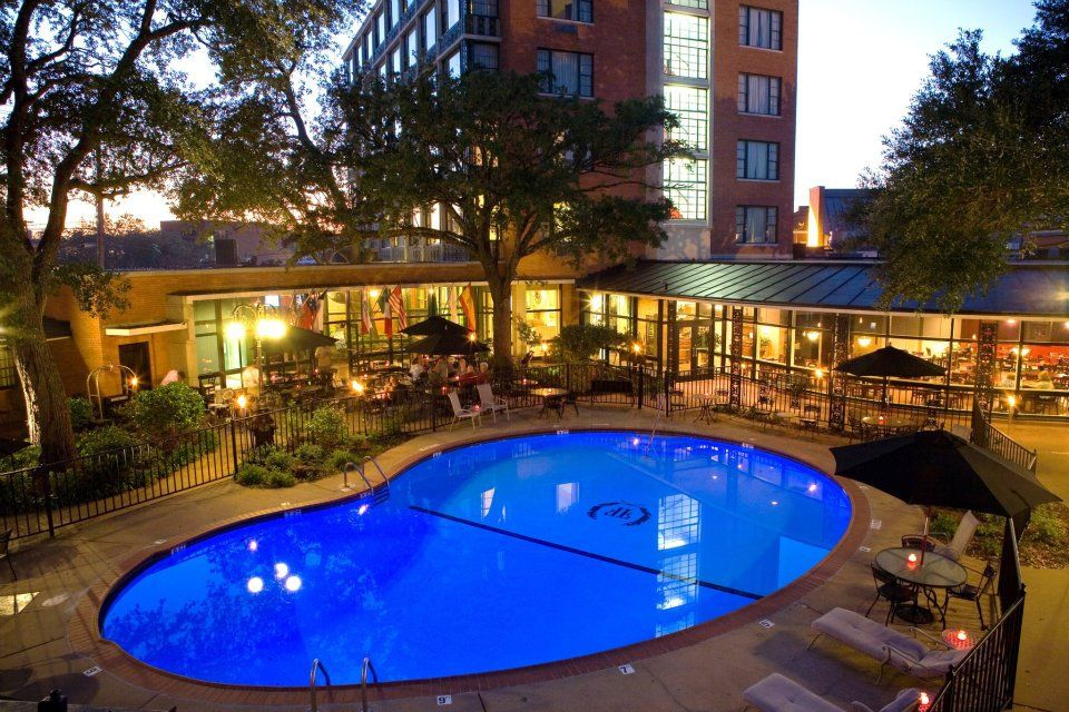 The Fredonia Hotel Pool Area In Nacogdoches Tx