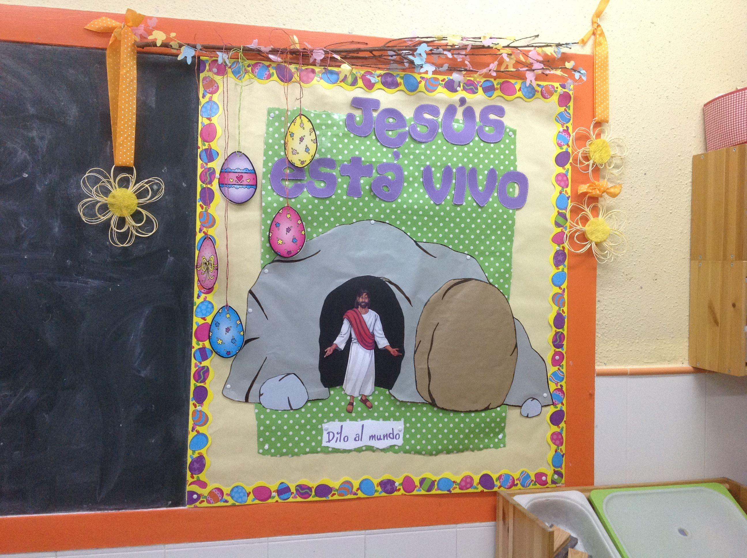 Mural De Pascua Murales Semana Santa Religion