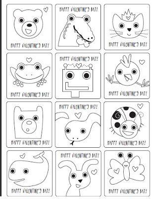 Divertidos dibujos de San Valentin para imprimir | Valentines for ...