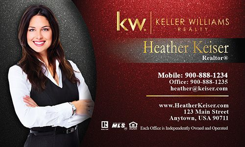 Keller williams realty business cards design 103341 real estate keller williams realty business cards design 103341 colourmoves