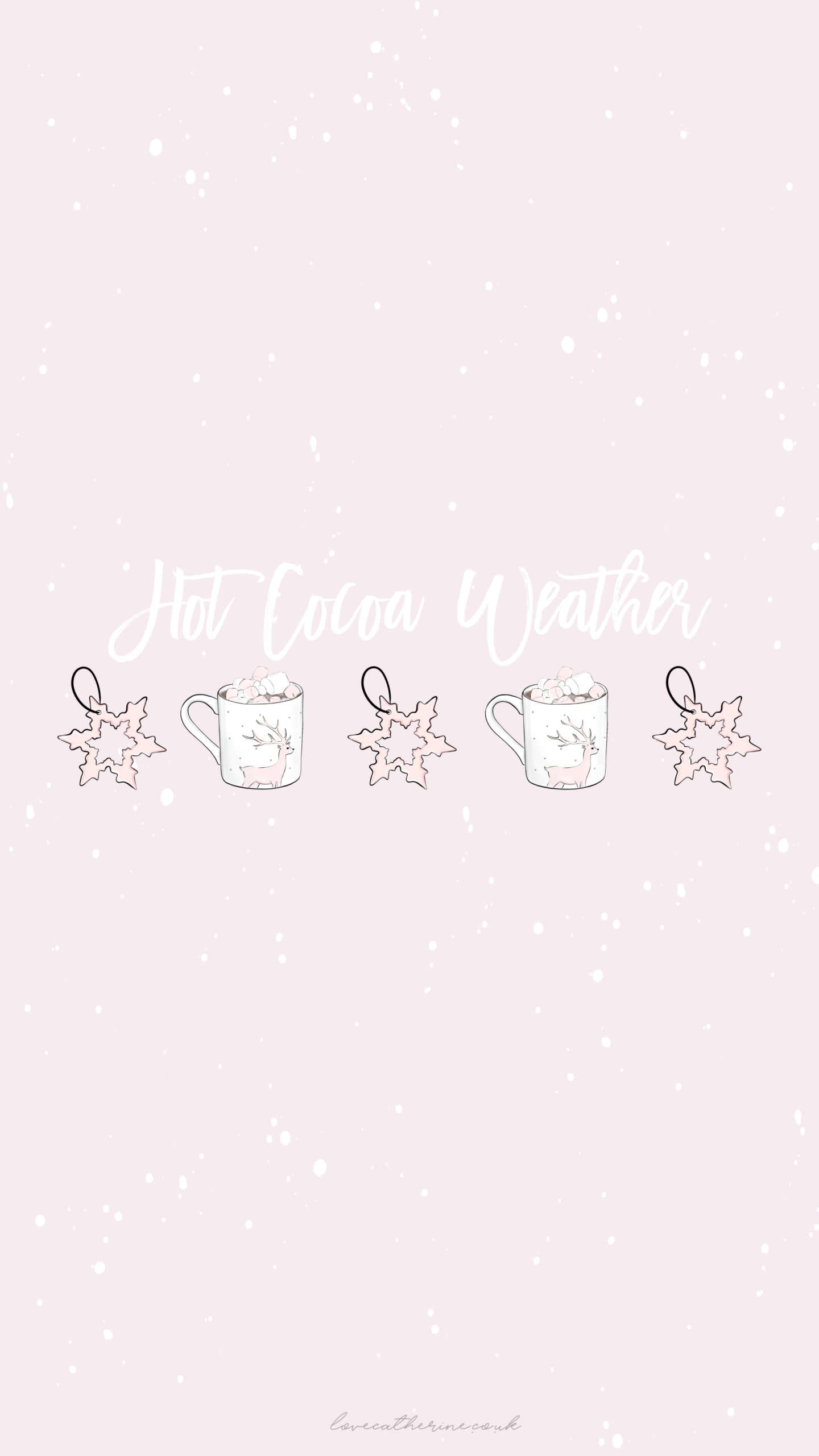 Free Cute Girly Winter Phone Wallpapers For Christmas Cute Christmas Wallpaper Winter Wallpaper Winter Wonderland Wallpaper