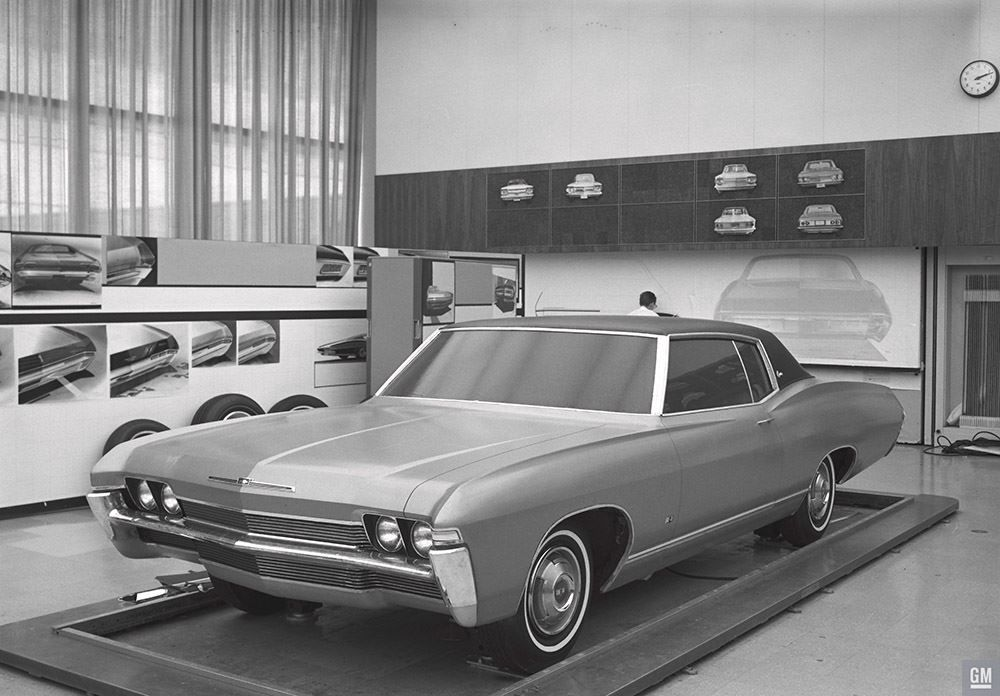 Here S A Look Back At Chevrolet S Design Studio In January 1966