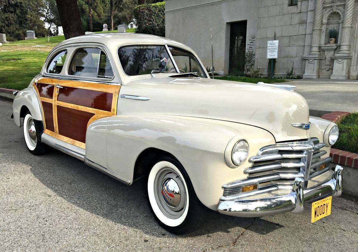 1948 chevrolet fleetmaster for sale 1886730 hemmings motor news woodycars