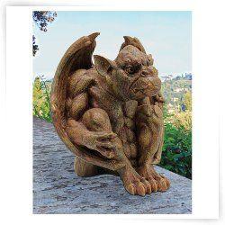 Design Toscano Balthazars Watch Gargoyle Sculpture