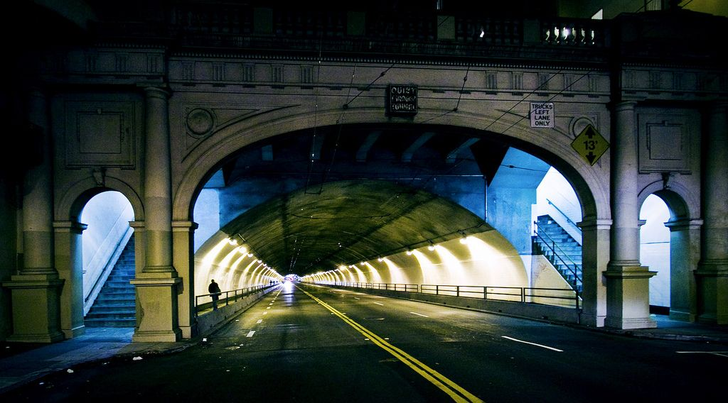 Stockton Tunnel   by SHUN [iamtekn]