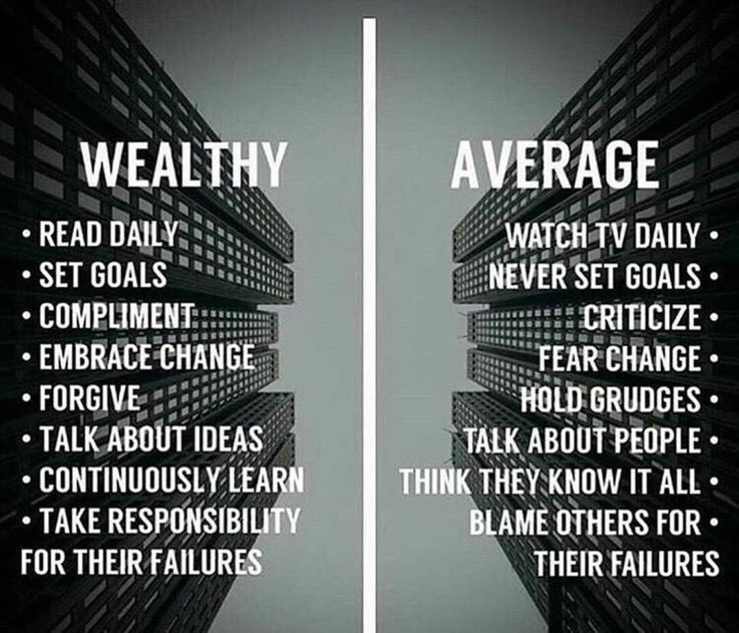 Which side are you on?  Work seems more interesting and valuable if you are seeing a financial benefit of what you are doing every day. If you are building your future every day, you have a strong motivation to be successful at work.