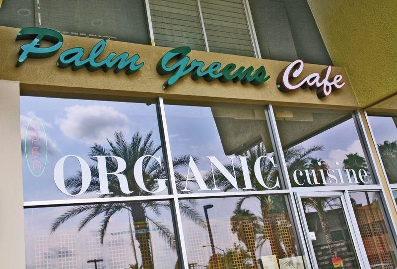 Palm Greens Cafe - locate on yelp for menu