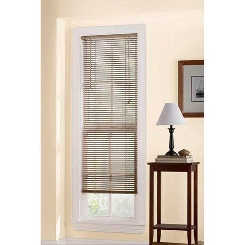 Mainstays 1 Room Darkening Blind 39 X 64 Color Khaki By Mainstays 15 90 Care Wipe With Soft Cloth A Vinyl Mini Blinds Mini Blinds Blinds For Windows