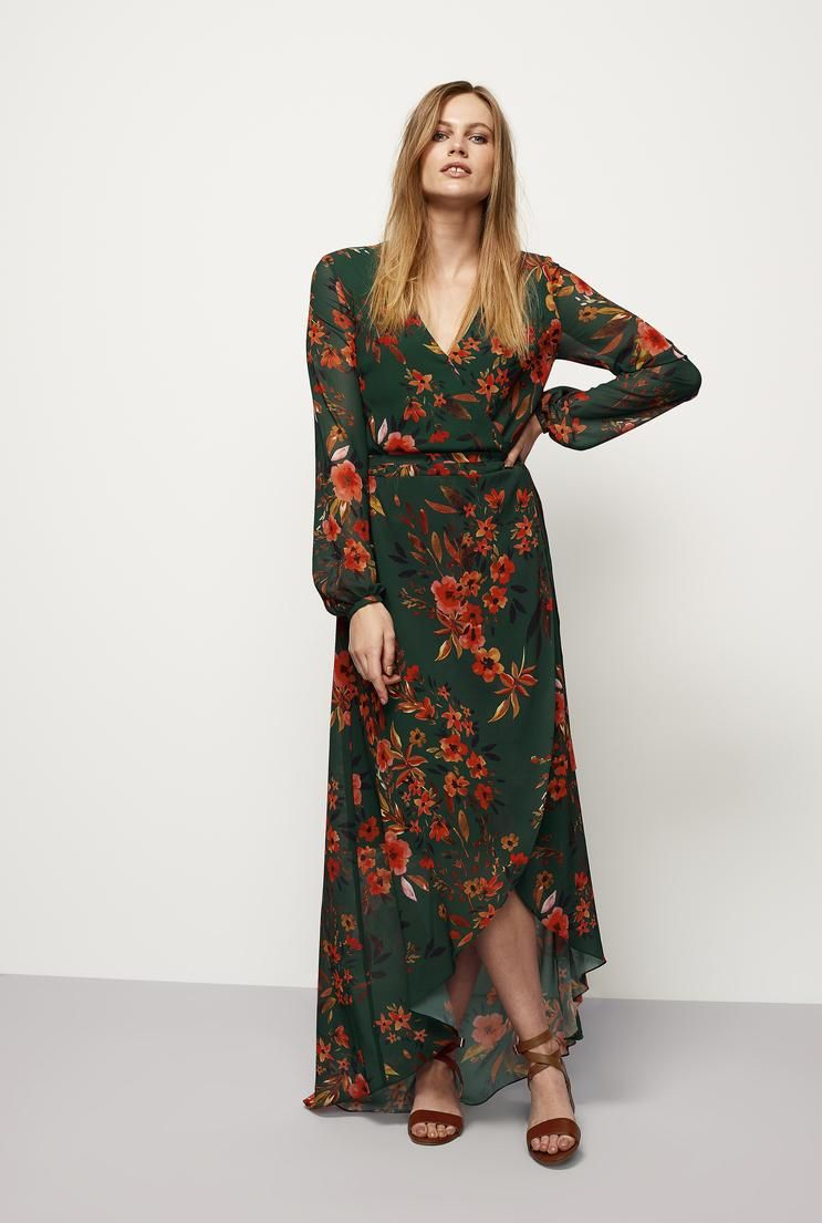 609a3ce83a3d1  AdoreWe  Long Tall Sally AU - Long Tall Sally Tall Women s Floral Fixed  Wrap Dress in Multi - Size 14 at Long Tall Sally - AdoreWe.com