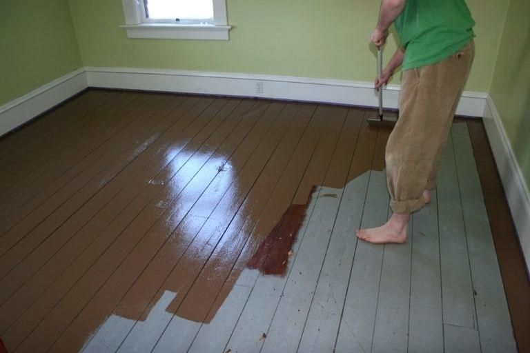 How To Get Paint Off Hardwood Floors Without Sanding Painted