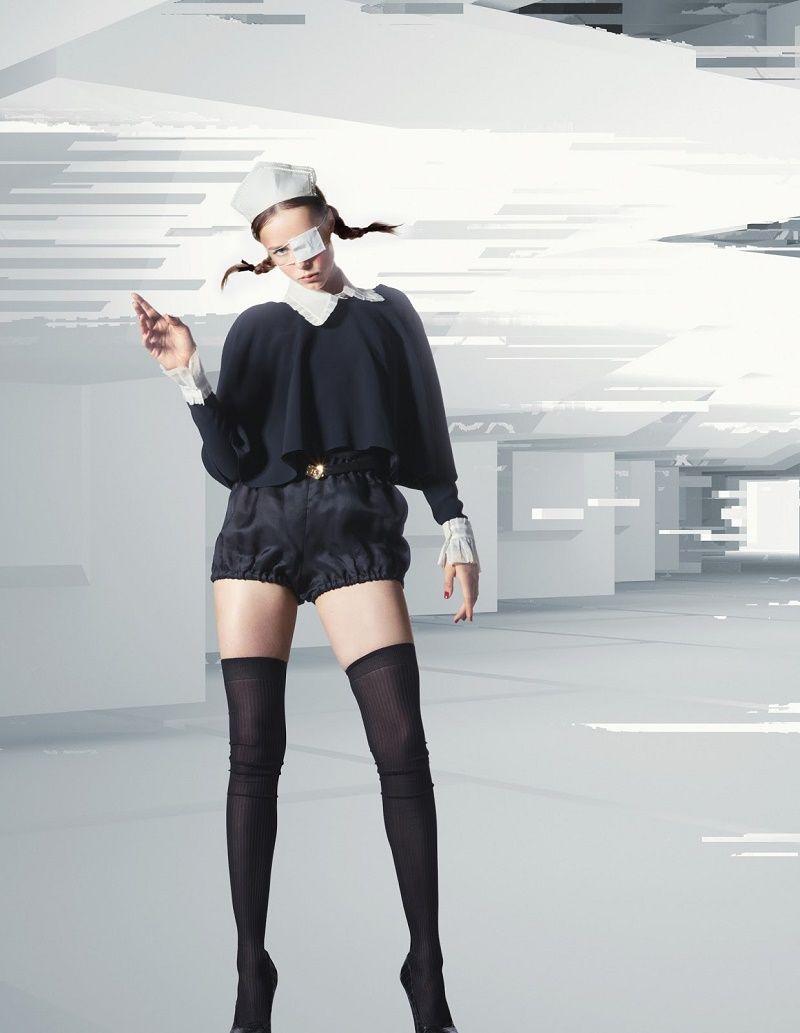 Produço Fotografia e Beleza Em Editorial De Moda Com Sabor de Arte  Fragmentos de Moda