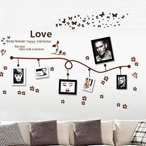 Dagou Love Memory Home Decor Large Wall Stickers Murals Wall