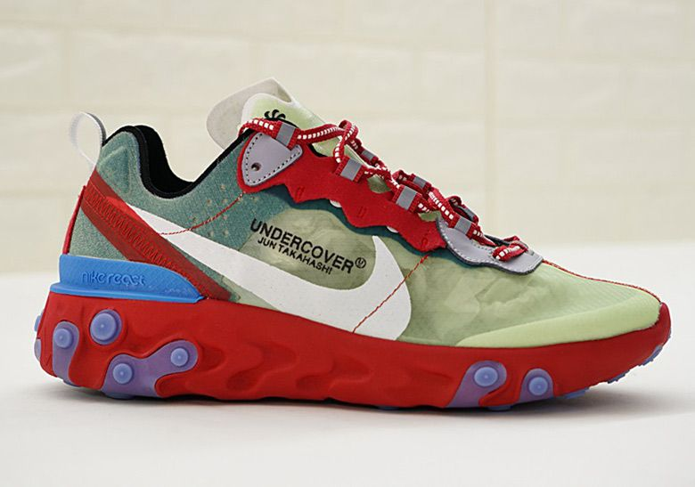 new product 21652 c6fe0 Undercover Jun Takahashi Nike React Element 87 Photos   SneakerNews.com