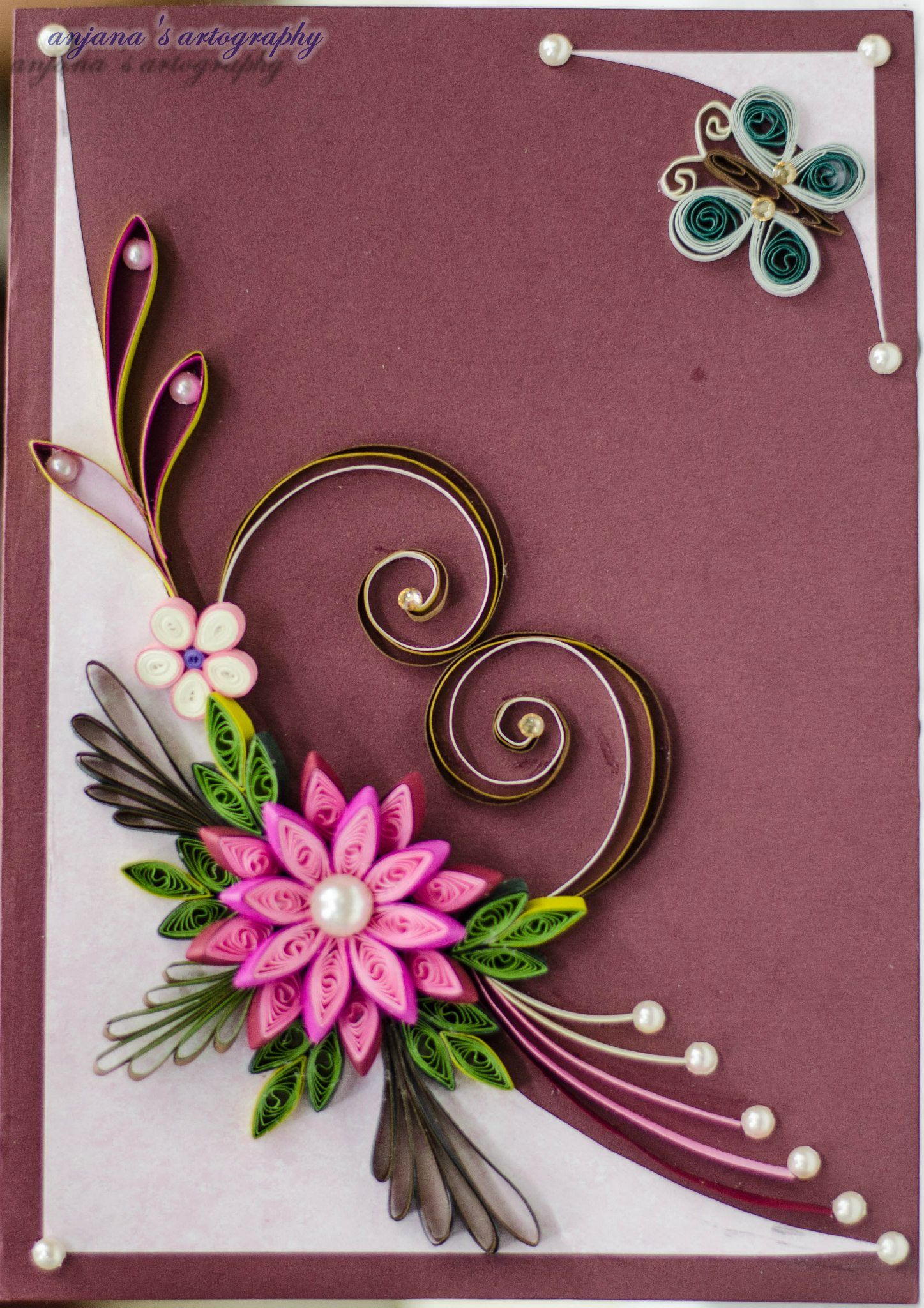 Pin by dana pivo kov on quilling obr zky r me ky for Paper quilling designs