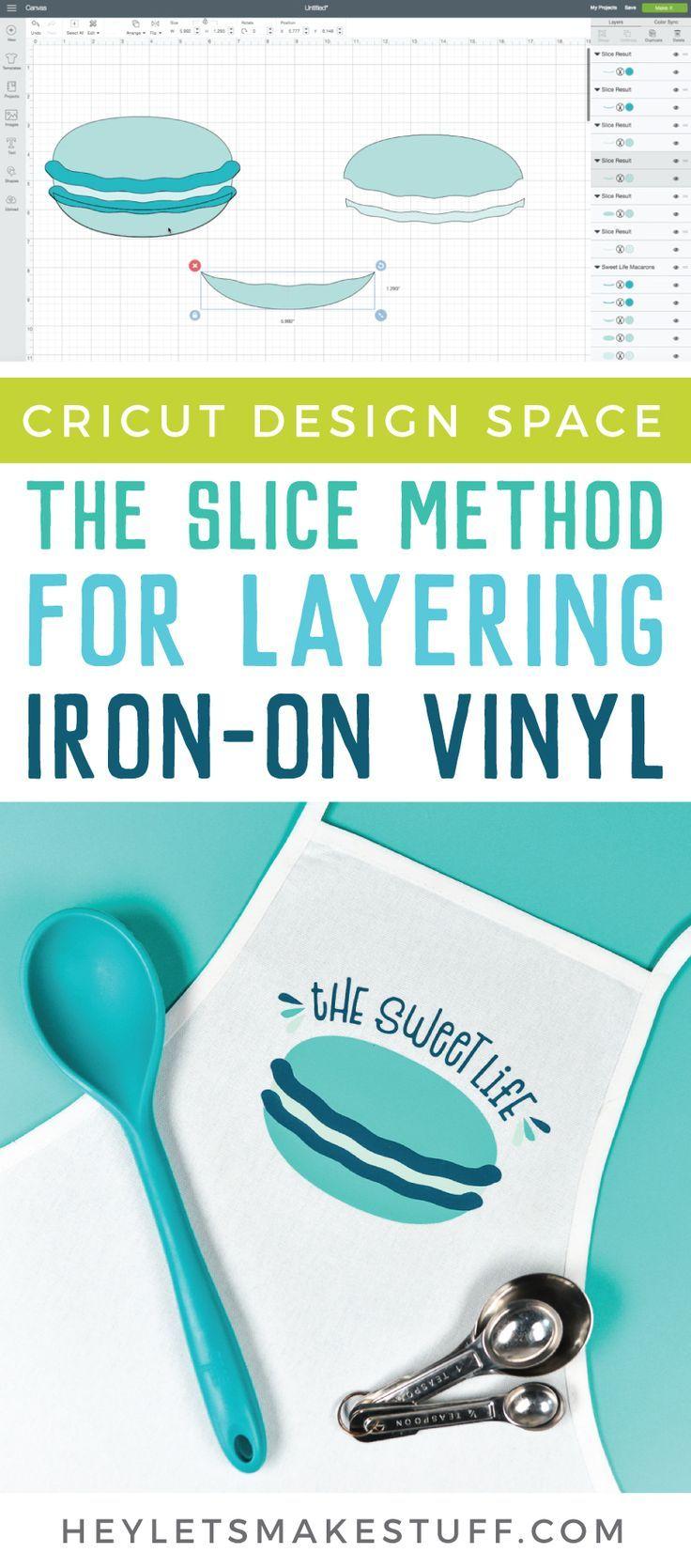 The Slice Method for Layering Vinyl (Fresh Cuts) #cricutvinylprojects