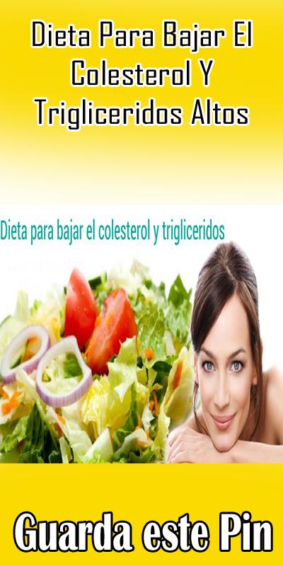 dieta contra los triglicéridos altos