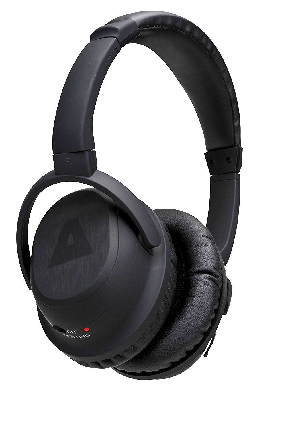 OverTheEar Noise Cancelling Black Sports Stereo Wireless
