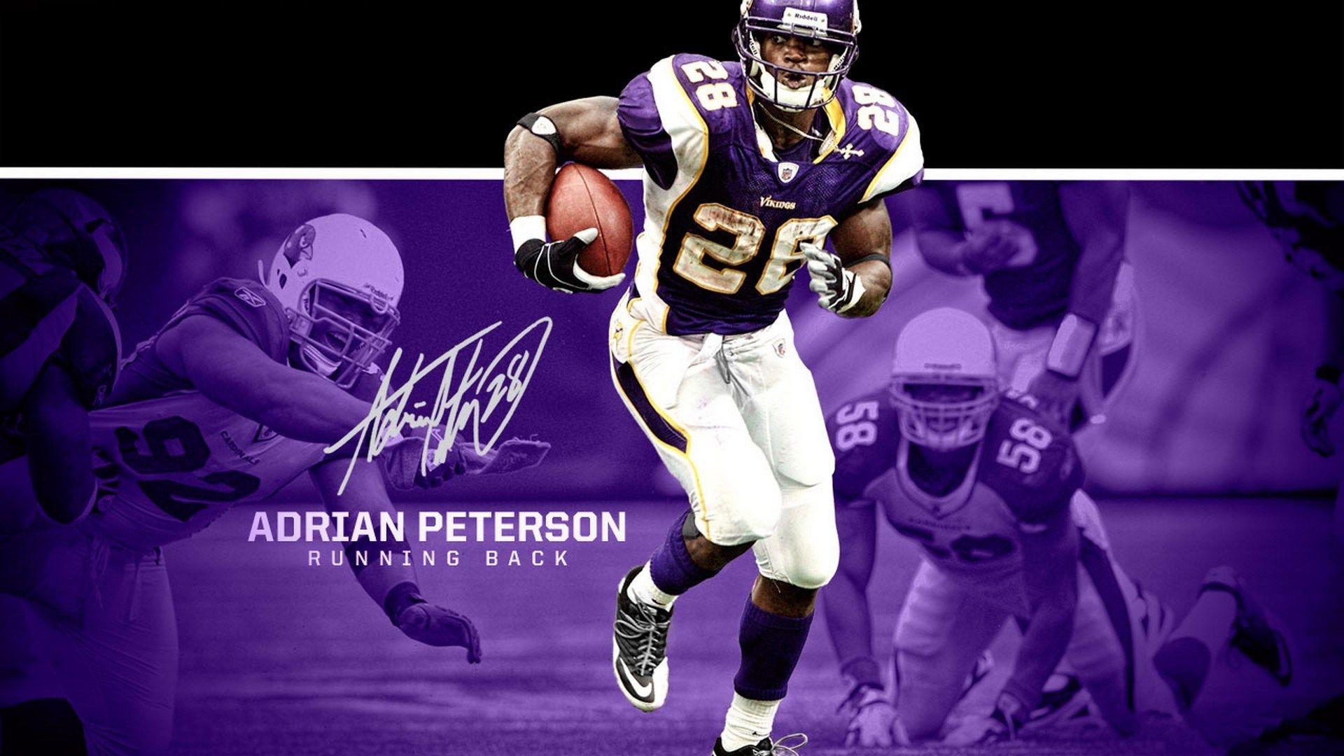 Free Hd Adrian Peterson Wallpaper