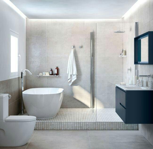 Pin de Annemarie en Bathroom | Pinterest | Duchas, Plataforma y El ...