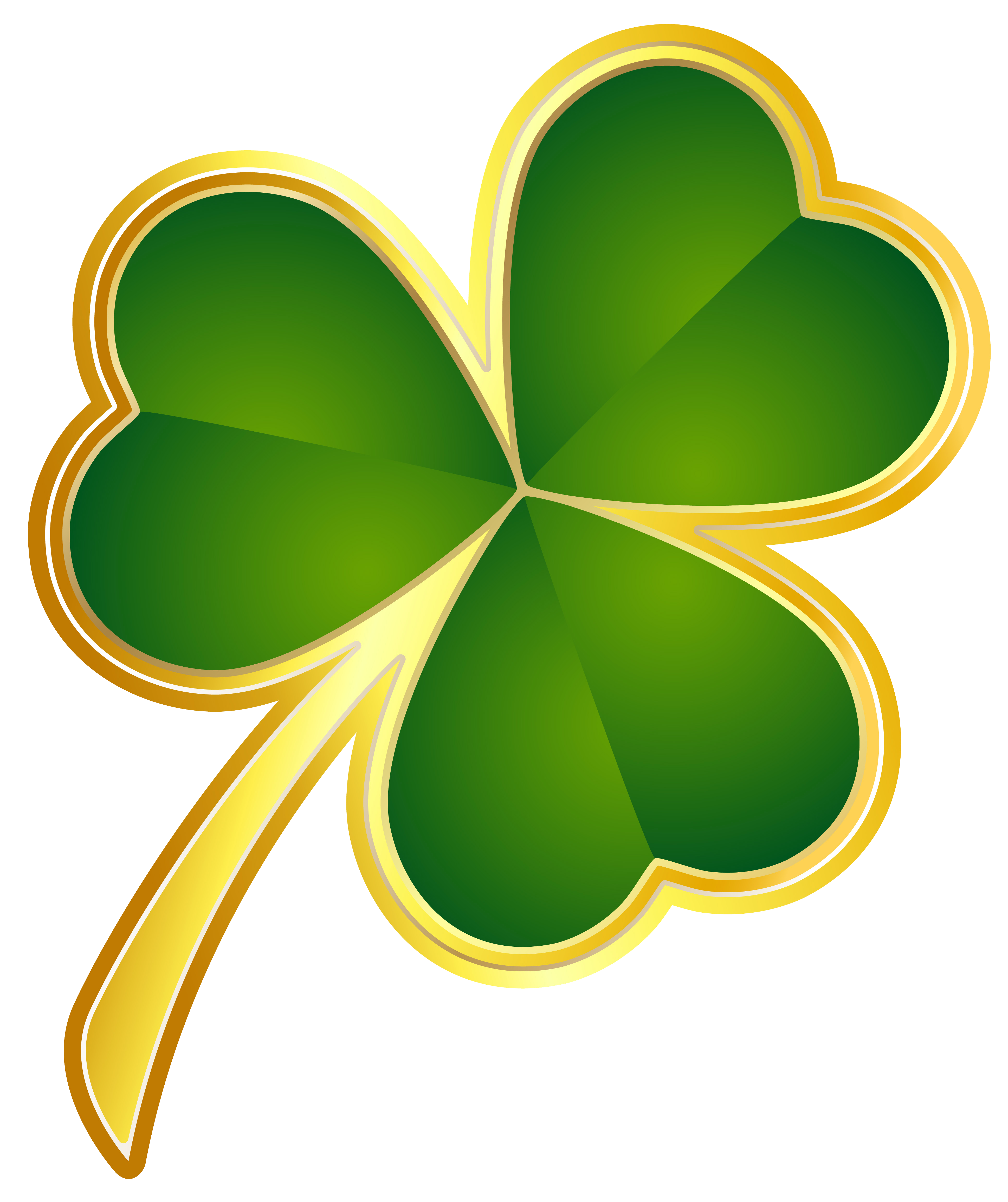 St Patricks Day Gold Shamrock Png Clipart St Patricks Day Pictures St Patricks Day Clipart Shamrock Art