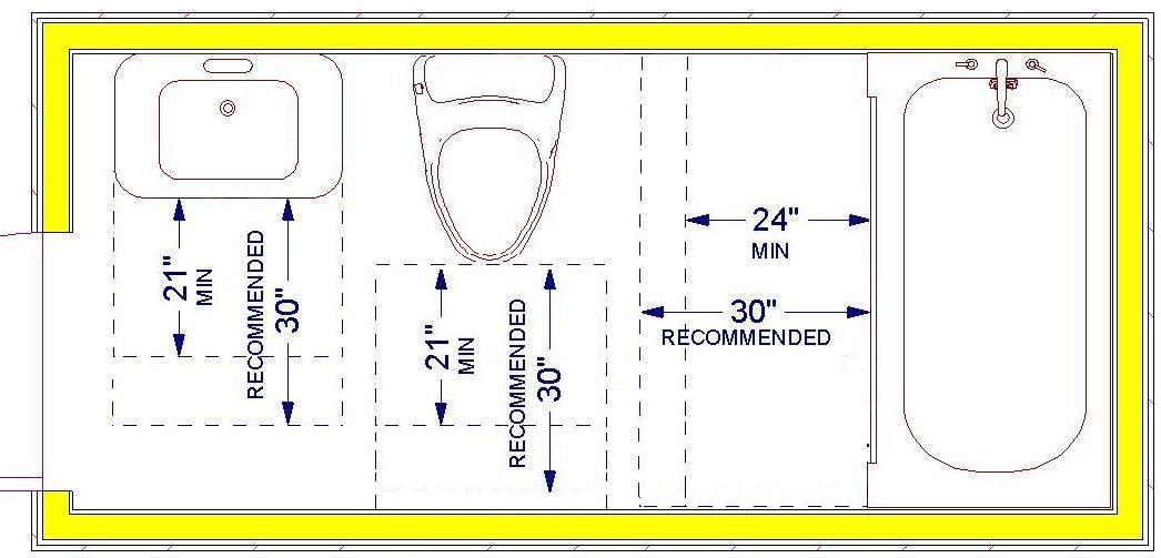 Inspiration Web Design Full bathroom dimensions with a bath or large shower ft x ft Bathroom Dimensions Pinterest Large shower Bath and Bathroom plans