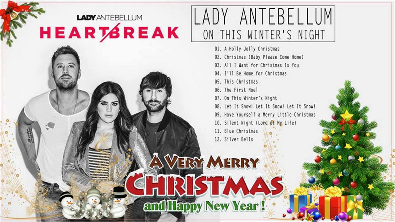 Lady Antebellum Best Christmas 2018 [Full Album] Lady