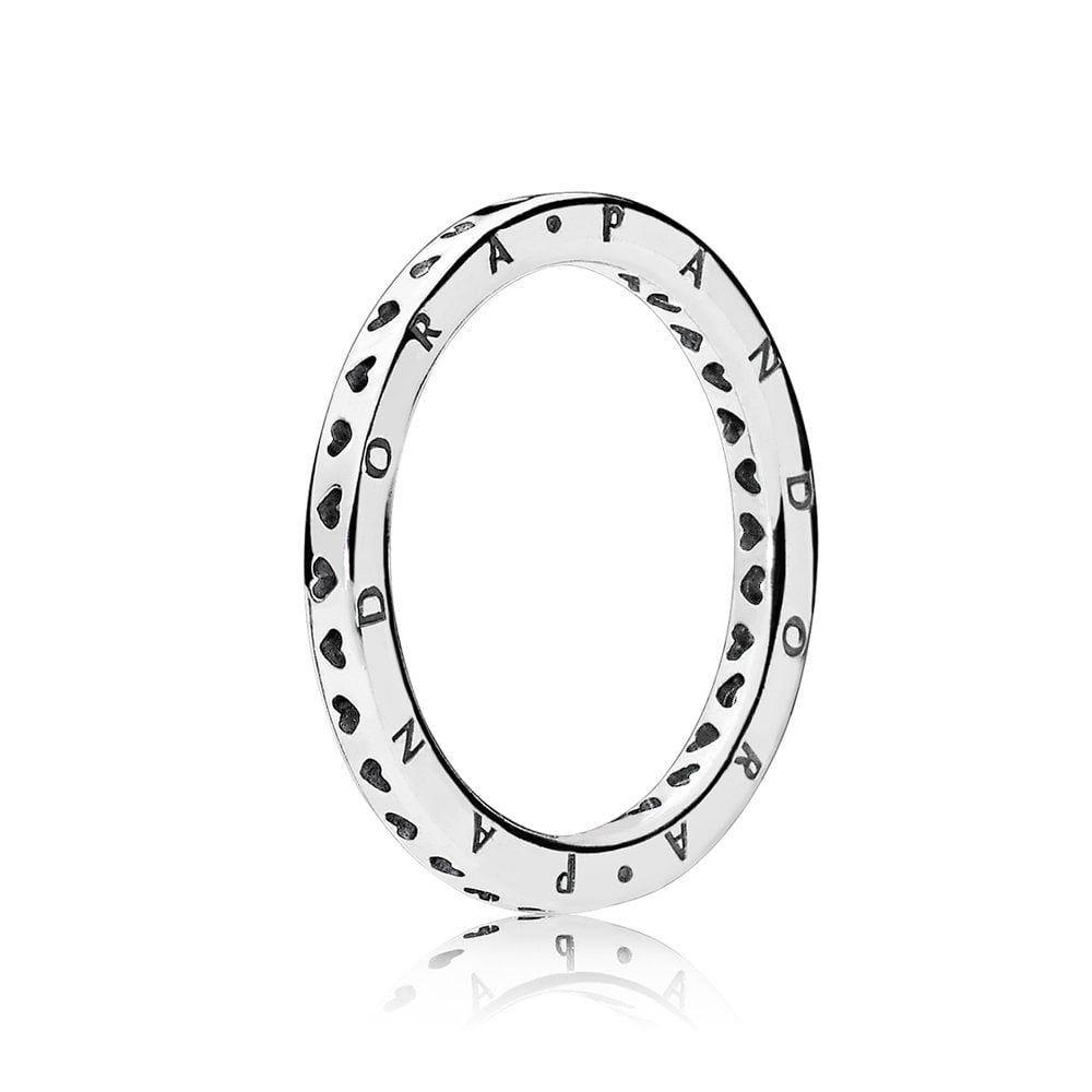 Signature Hearts of PANDORA Ring -  PANDORA Signature Hearts of PANDORA Ring 197133  - #cuteweddingdress #Hearts #pandora #pandoracharms #pandorarings #Ring #Signature #weddingbride